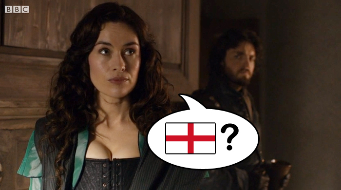Milady thinks of England