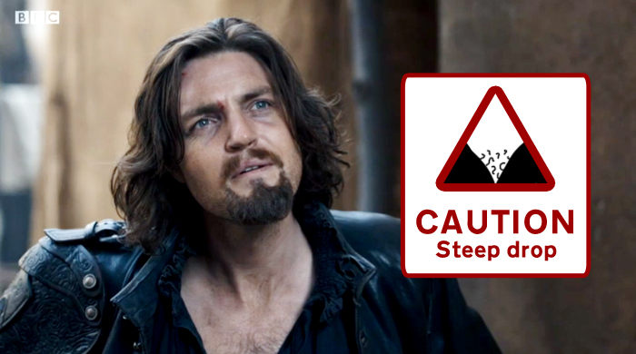 Athos unbuttoned and unbowed