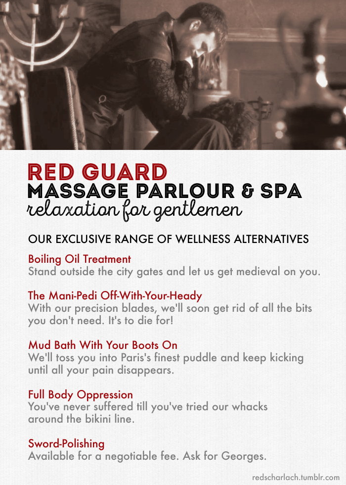 The Red Guard massage parlour and spa
