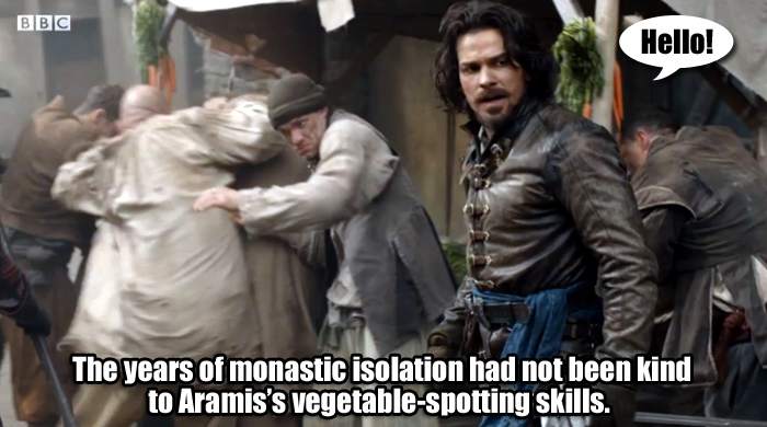 Aramis and carrots
