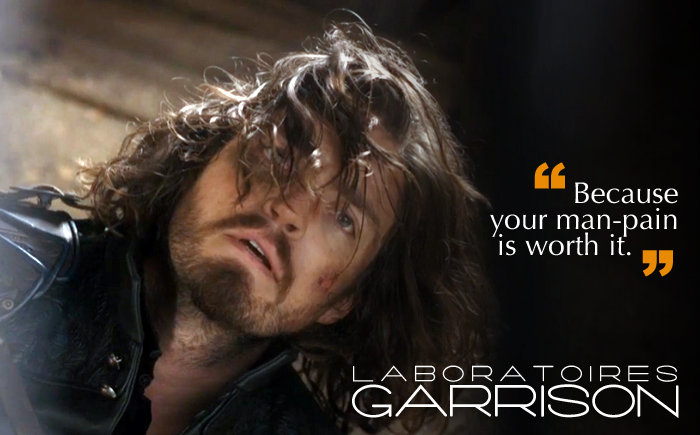 Athos on the floor