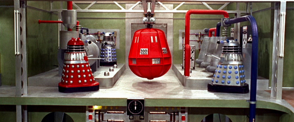 The Daleks have a big red bomb