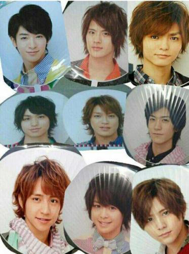 Hey Say JUMP Jump Tour 2013 - Jumbo Uchiwa