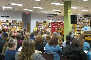 Patricia Briggs drew a big crowd 3/3/2011