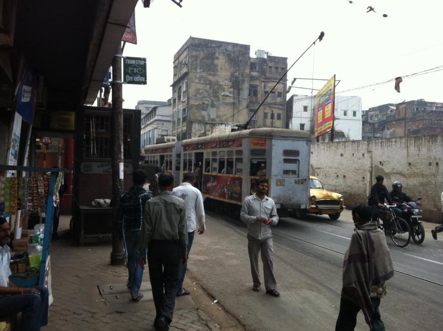 Калькутта - трамвай