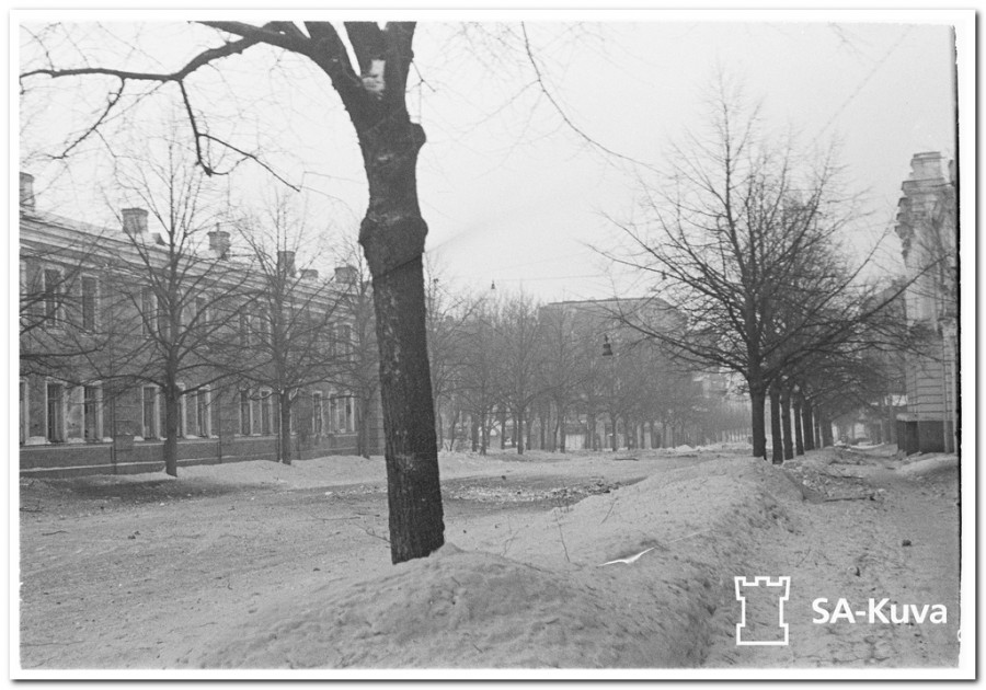 Keskuskasarmi. Viipuri 1940.03.07