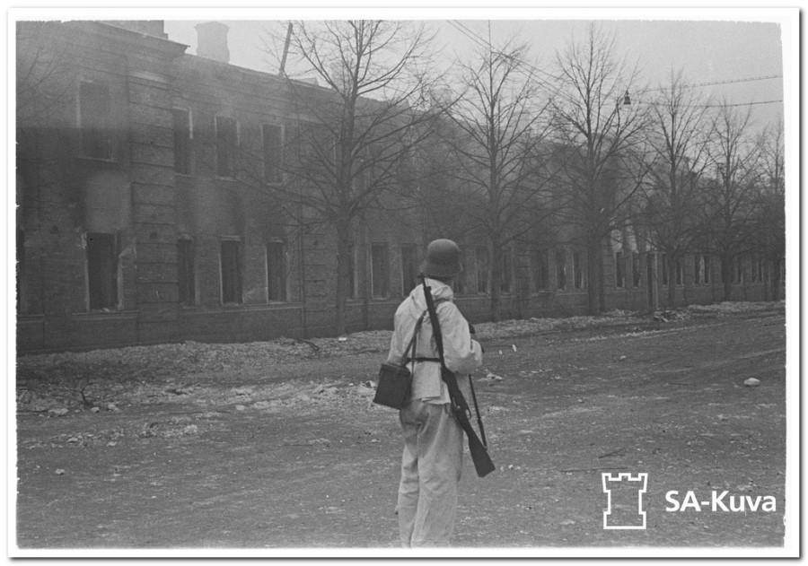 Keskuskasarmi. Viipuri 1940.03.08