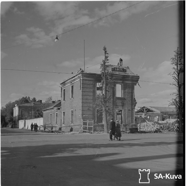 Keskuskasarmi Viipuri 17.11.1943г