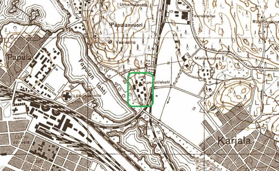 Карта_1938_Папула