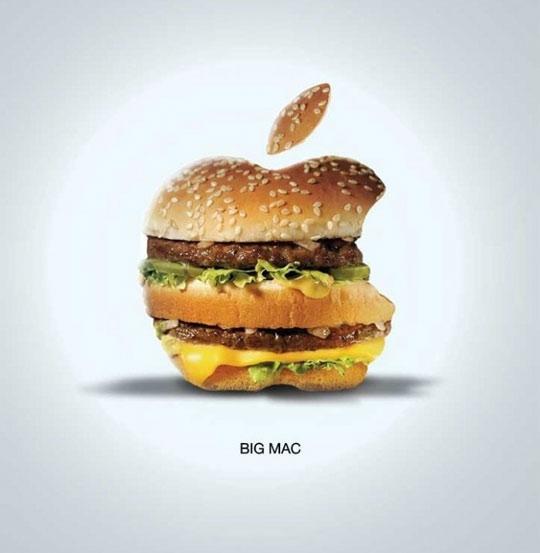funny-Big-Mac-McDonalds-Apple-logo
