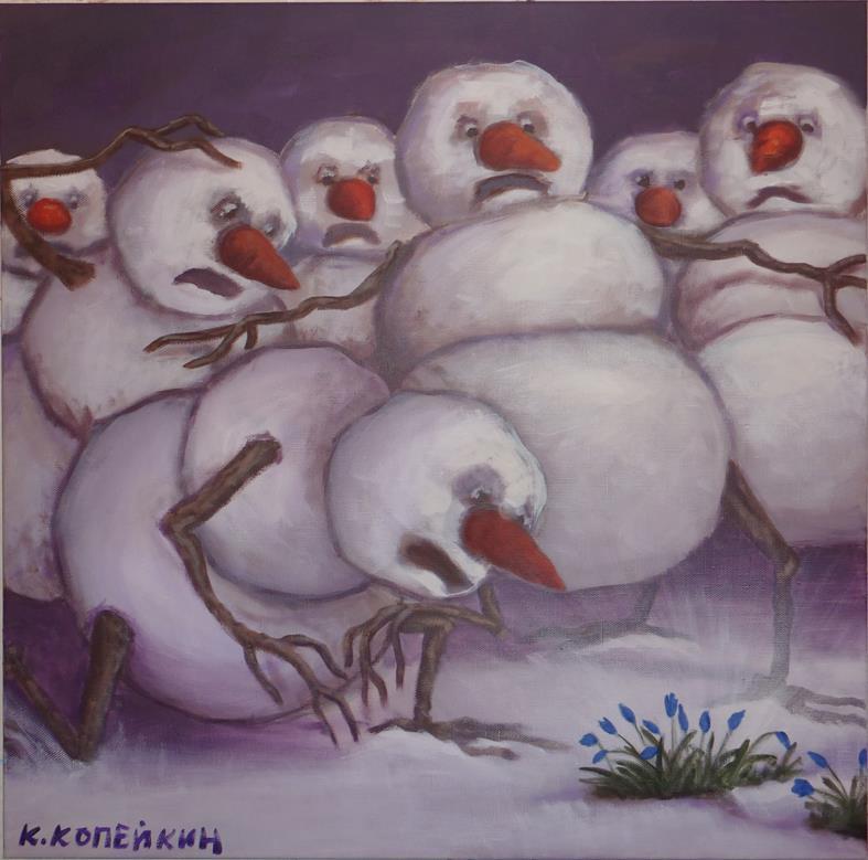 Предвестники апокалипсиса цивилизации снеговиков