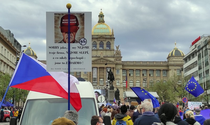 Еще один антибабишевский плакат.