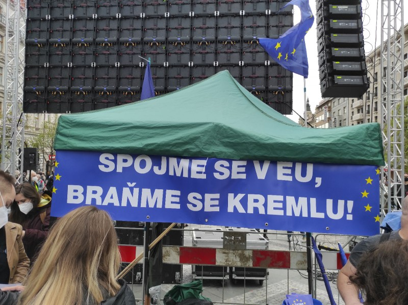 """""""Объединимся в ЕС, защищаемся от Кремля!"""""""