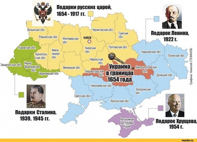 карты украины до 1917 года