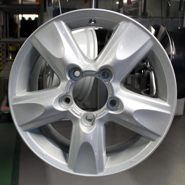 Восстановление лакокрасочного покрытия литых дисков автомобиля Opel