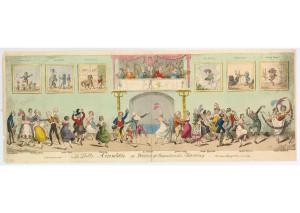[1817, en] George Cruikshank - La Belle Assemblee or Sketches of Characteristic Dancing