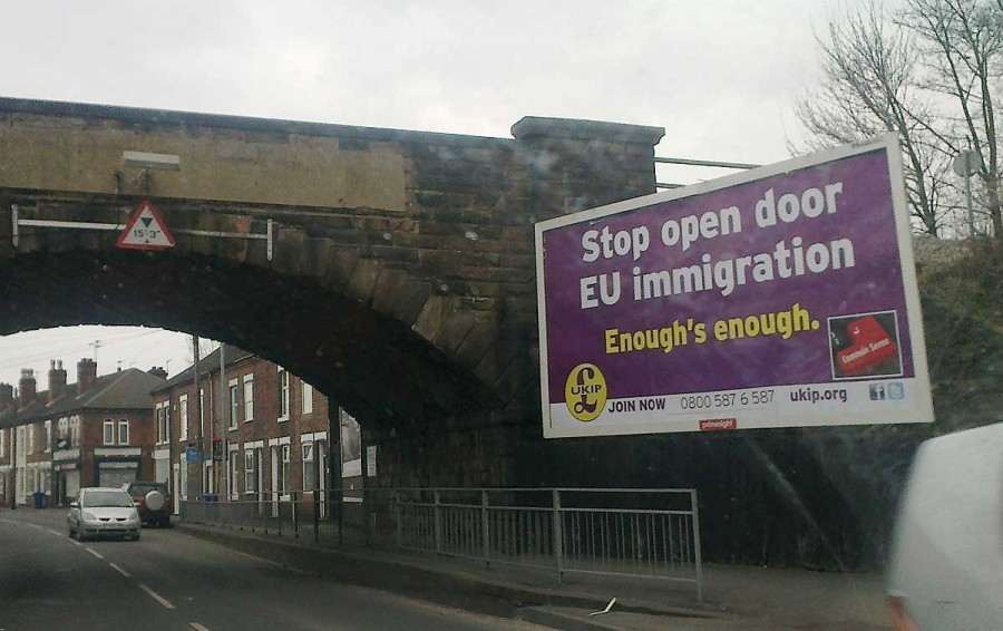 Stop open door EU immigration