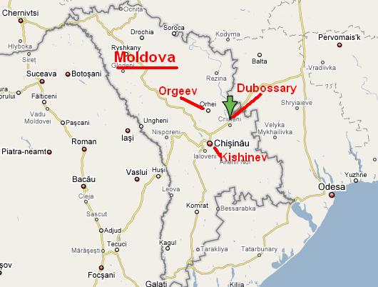 Image result for map of Kishinev pogrom