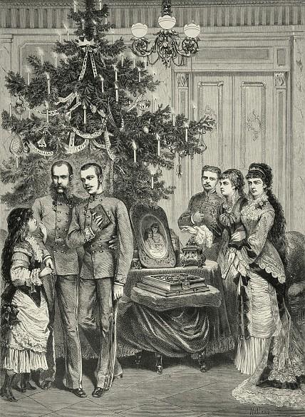 christmas tree hofburg 2