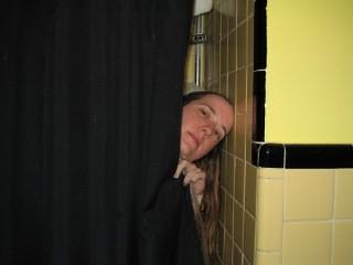 Half Shower Curtain