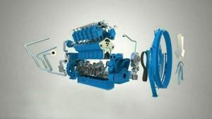 Дизельный двигатель ДМ-185