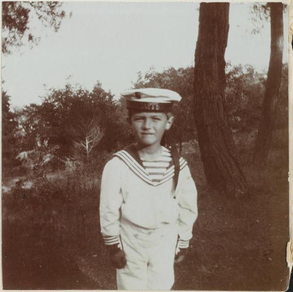 Цесаревич Алексей в матроске
