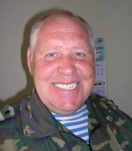 Вот он, полковник-парашютист Евгений Лендел