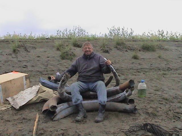 Шидловский в одной из экспедиций