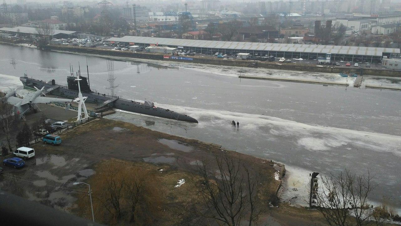 Февральская рыбалка по-Калининградски