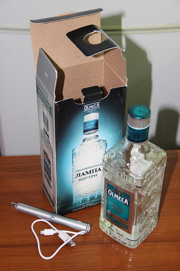 Текила - Tequila Olmeca Silver