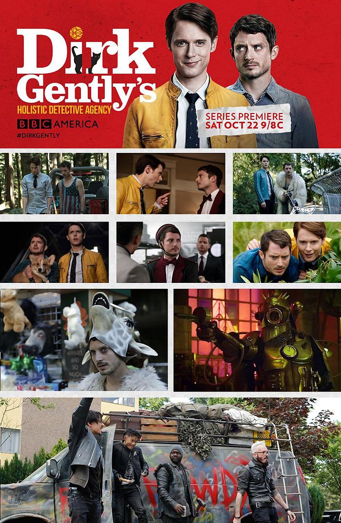 Холистическое детективное агентство Дирка Джентли / Dirk Gently's Holistic Detective Agency