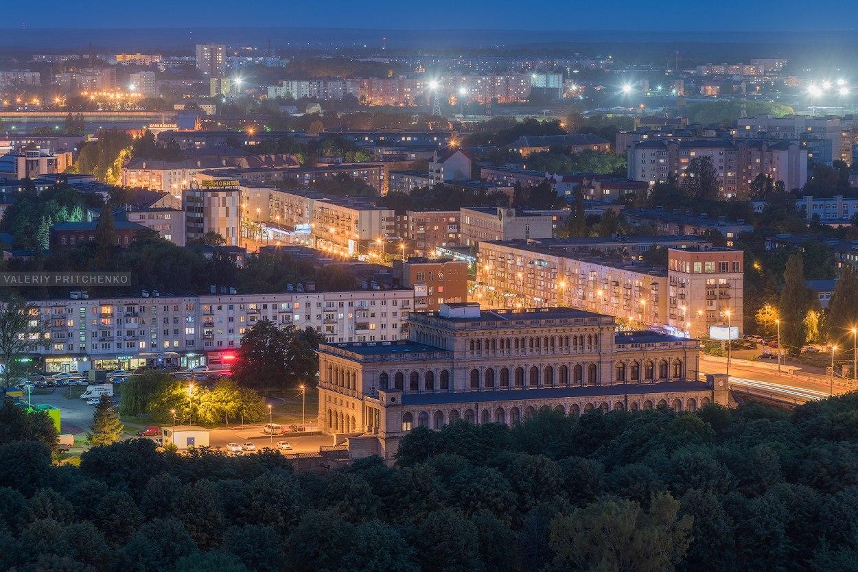 Ночной Калининград