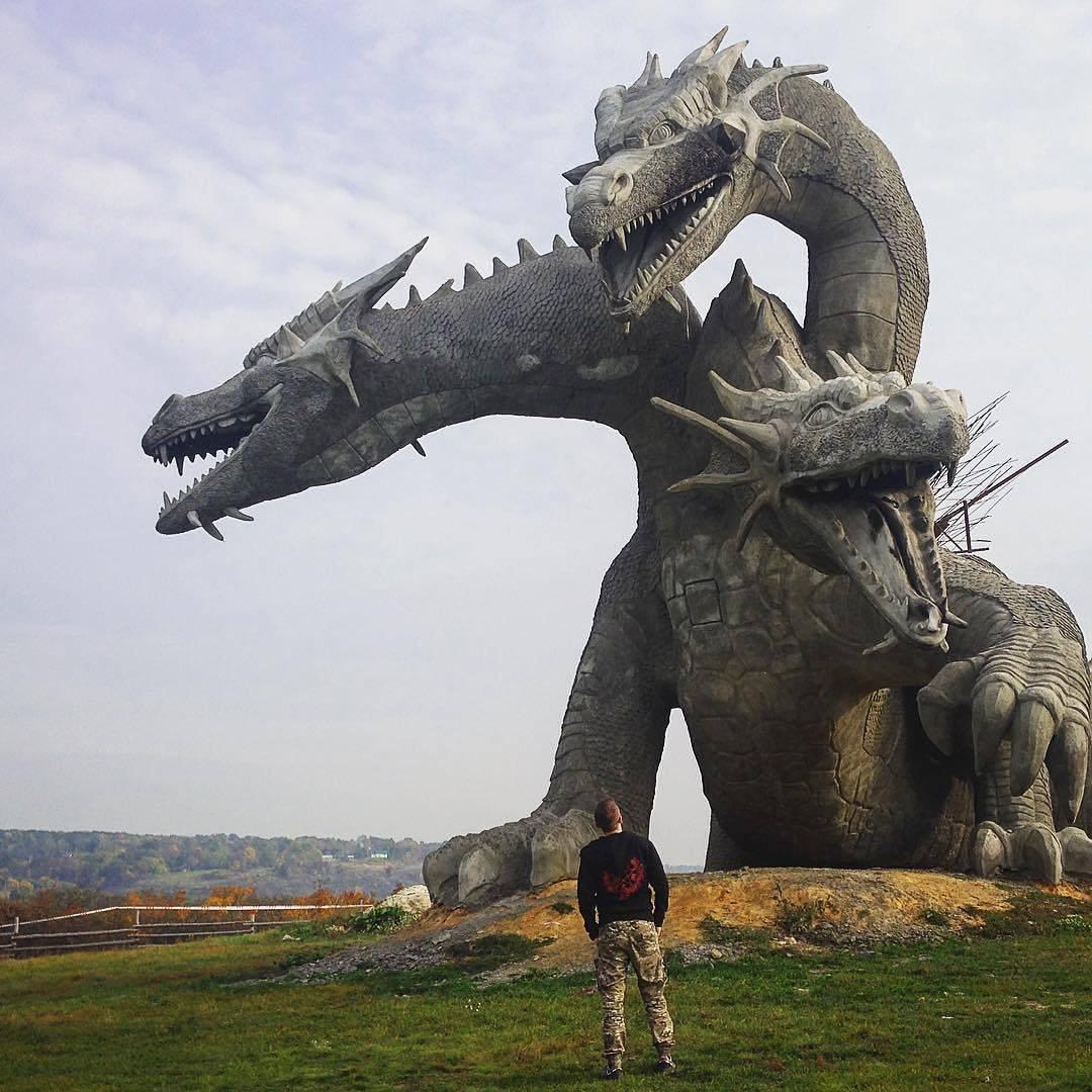 Змей Горыныч в Липецкой области