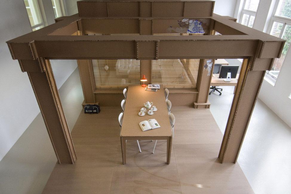 картонный офис 15