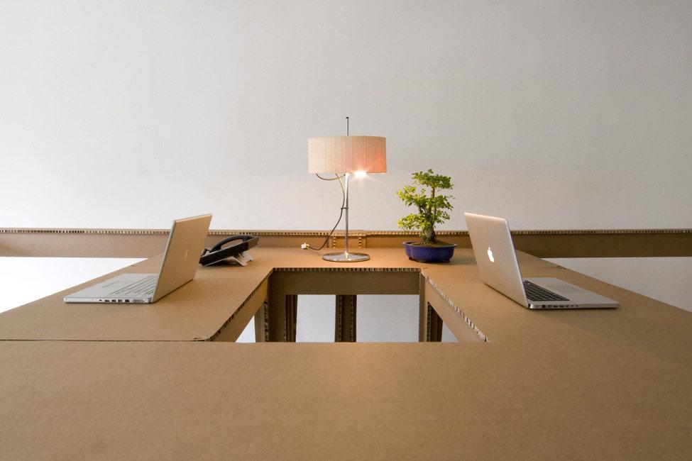 картонный офис 16