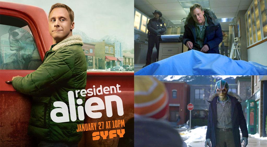 Засланец из космоса /  Resident Alien