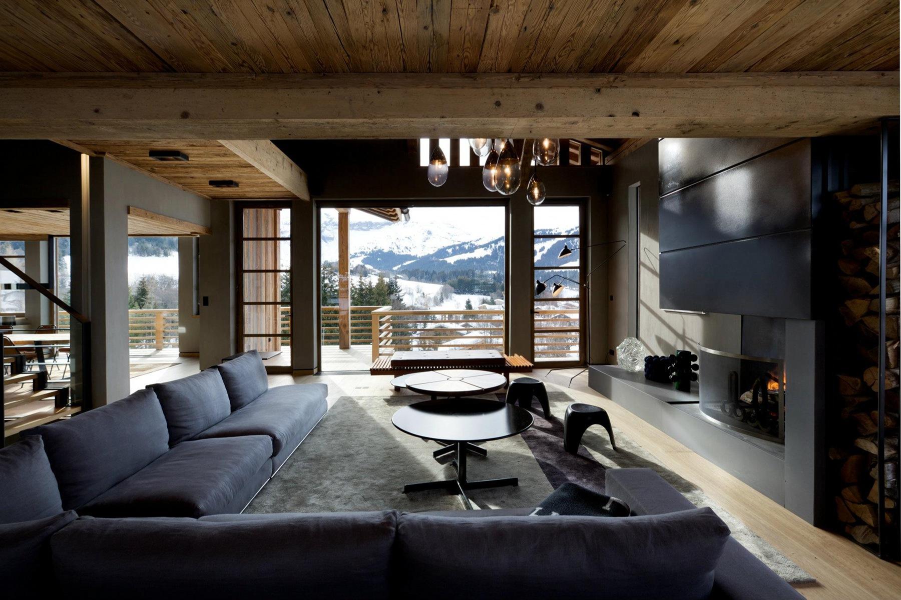 Интересный интерьер дома