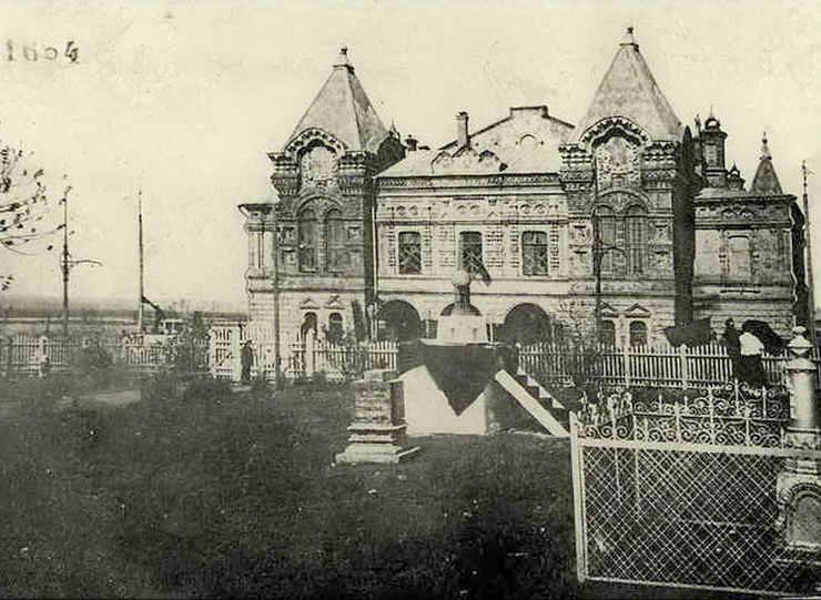 1.Памятник III Интернационалу. Драмтеатр. ~1920