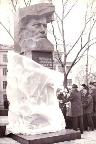 Открытие бюста-памятника В.П.Арцыбушеву