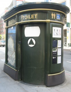 Free public toilets