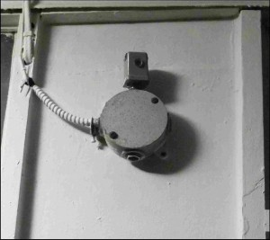 Security camera closeup