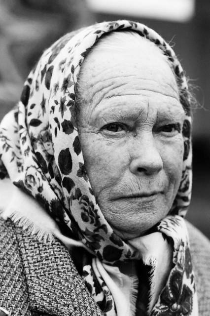"""Анна Михайловна, Лучистое."""" Самое главное, чтобы войны не было, люди жили мирно и начальство поменьше бы воровало""""."""