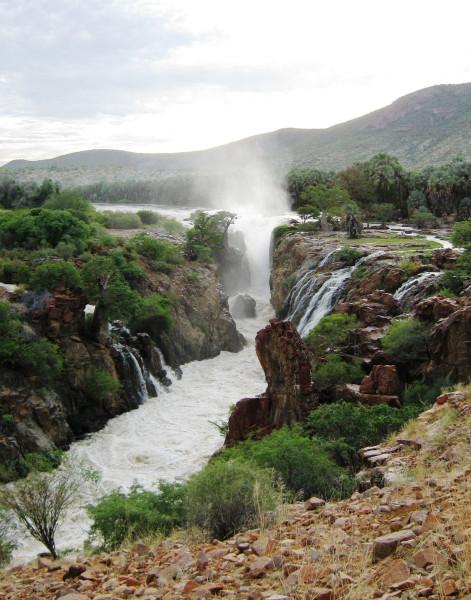 Коварный водопад Эпупа