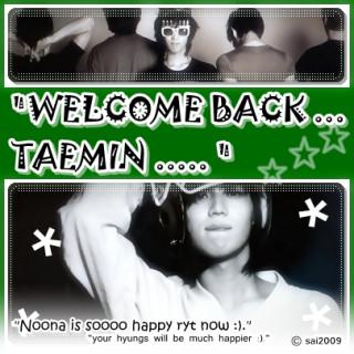 taemin-shii ~ tadaima ..