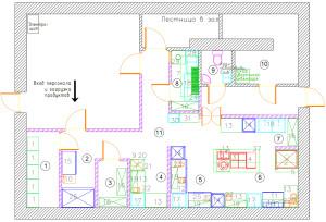 План расстановки технологического оборудования