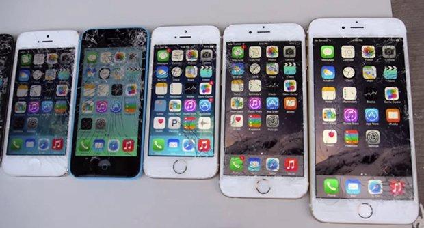 Краш-тест десяти айфонов