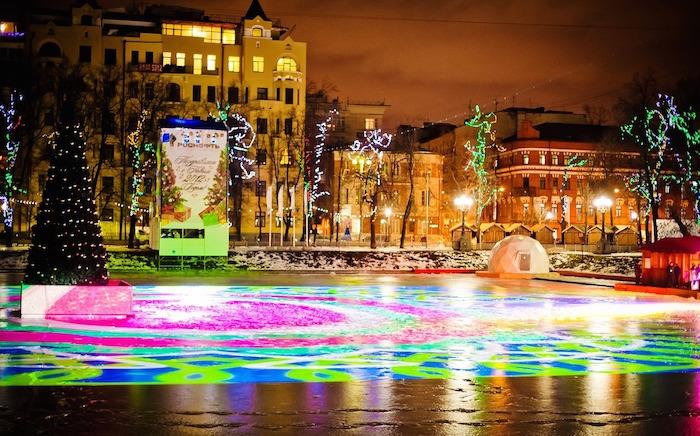 каток в Москве