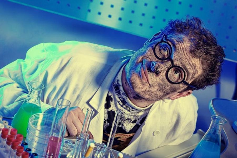 Смешные картинки ученых, ромашки смешные