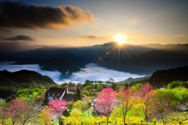 «Рассвет в Дуншэне». Тайвань