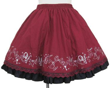 フェアリーテイルバッスル風スカート